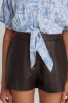 Свободная блузка с завязками из вискозы