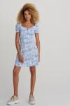 Платье мини из легкой вискозы