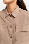 блузка джинсовая женская