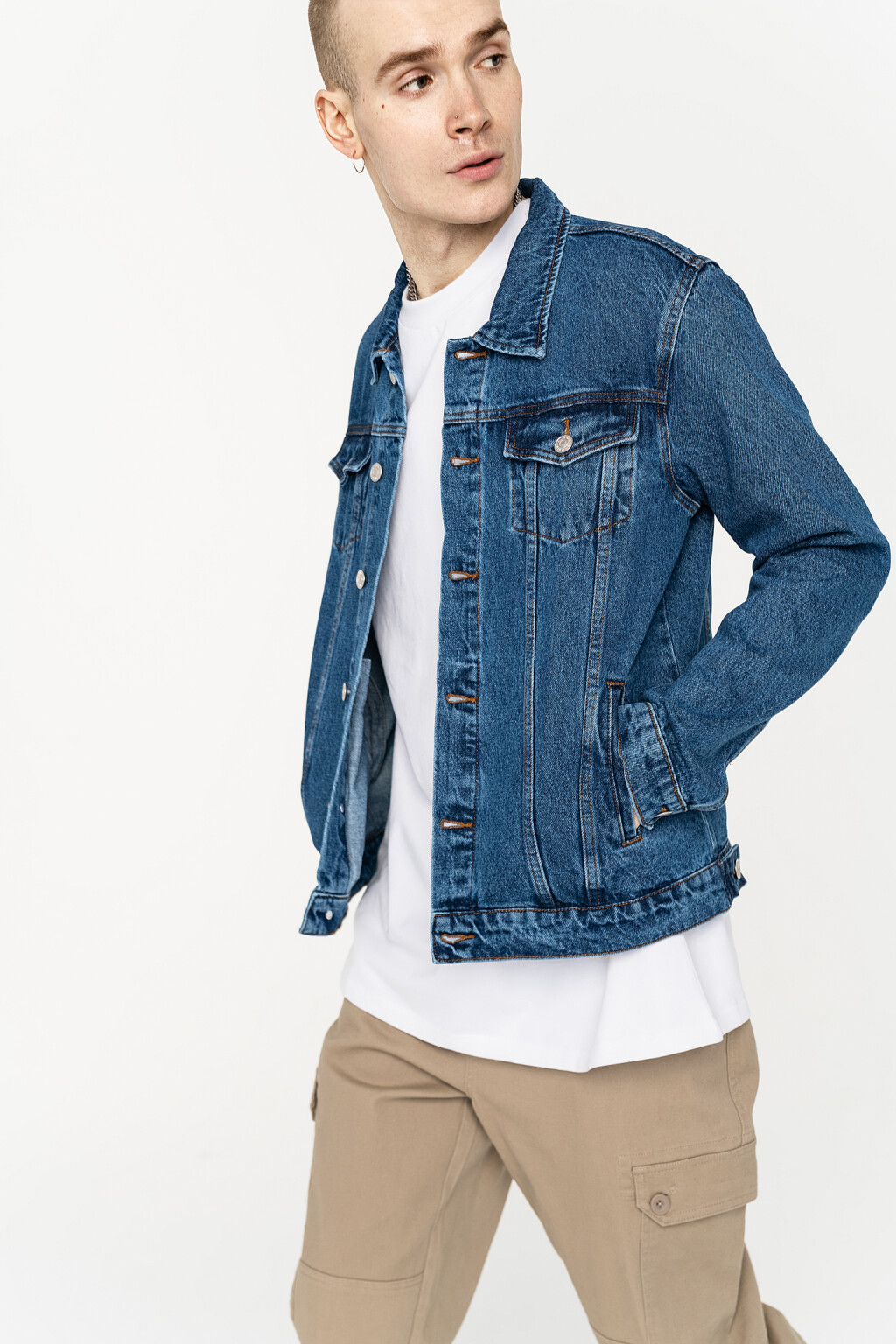 куртка джинсовая мужская