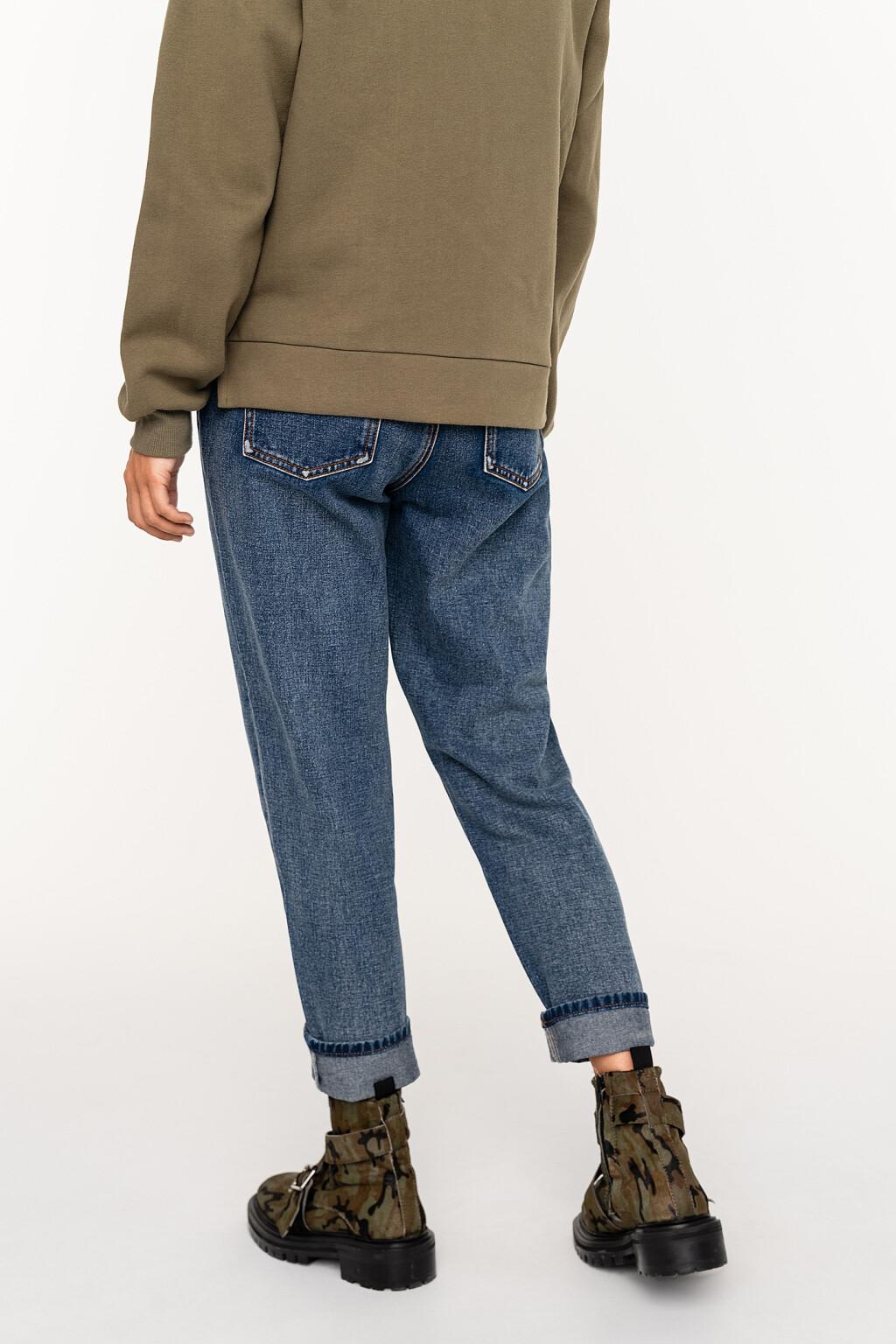 брюки джинсовые женские