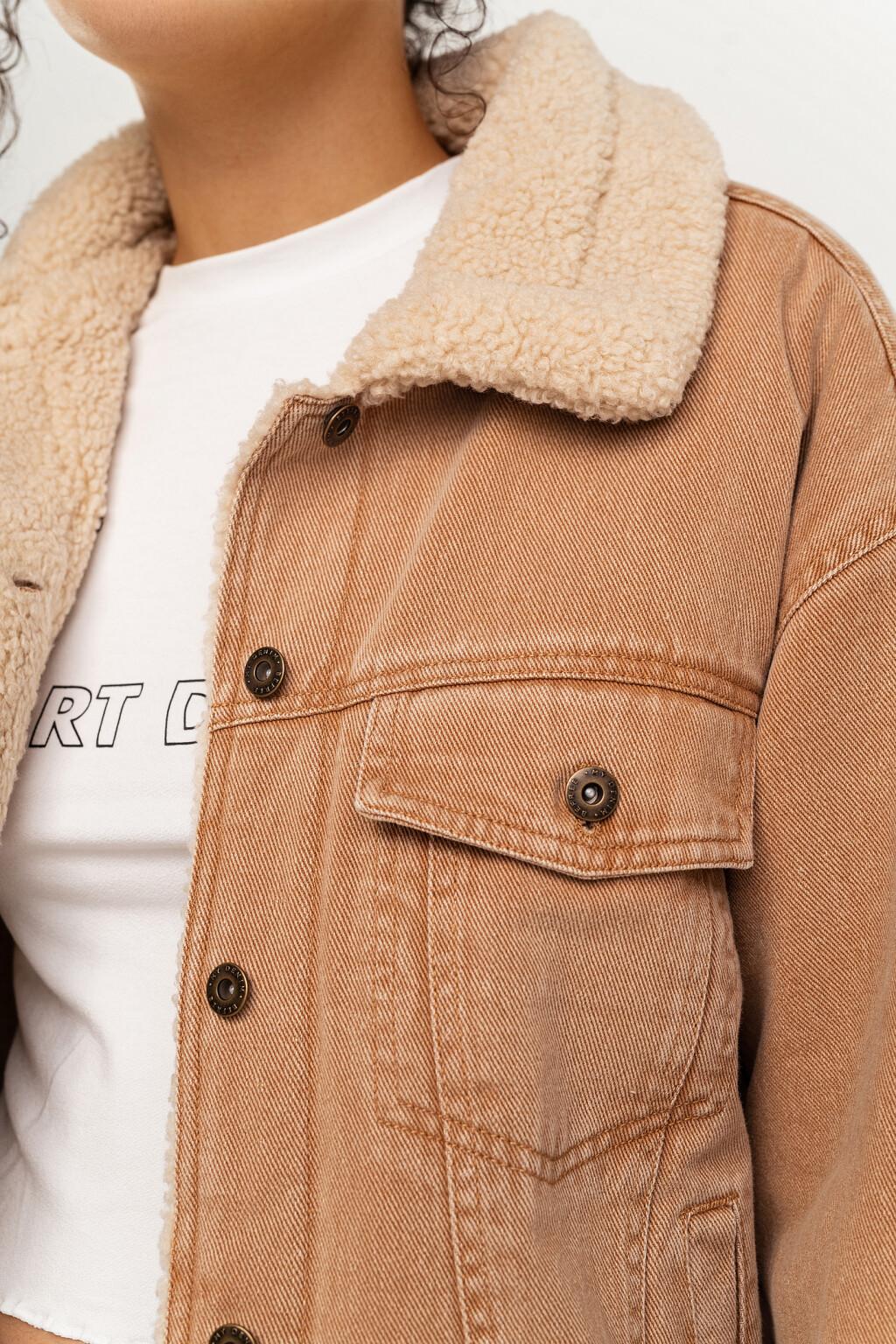 жакет джинсовый женский