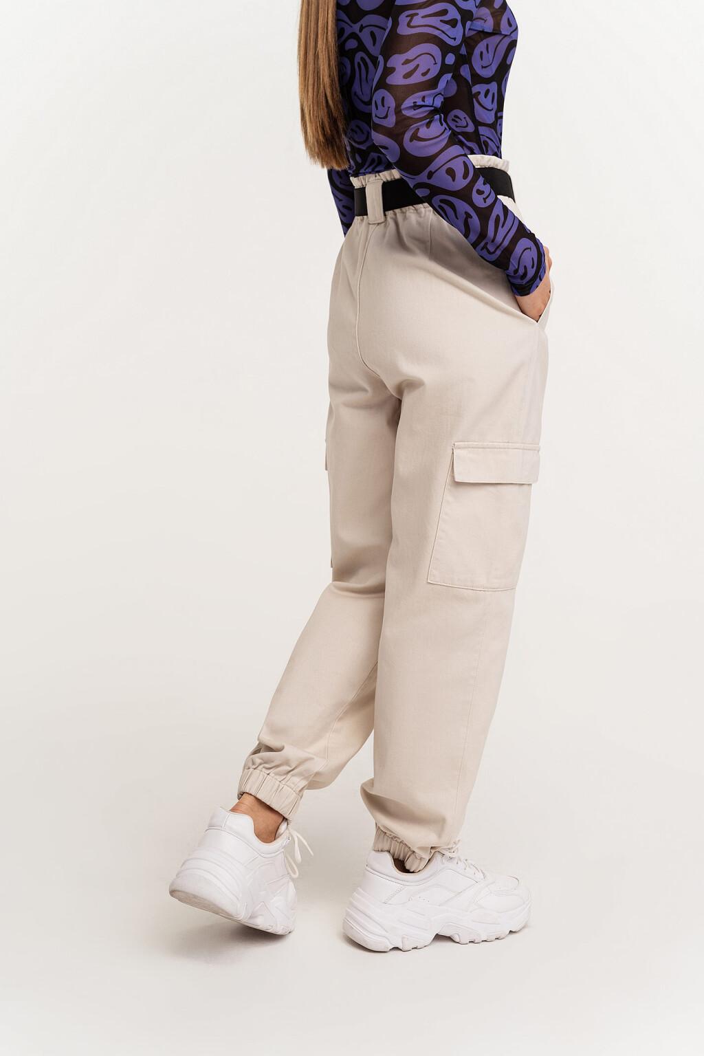 брюки с ремнем женские