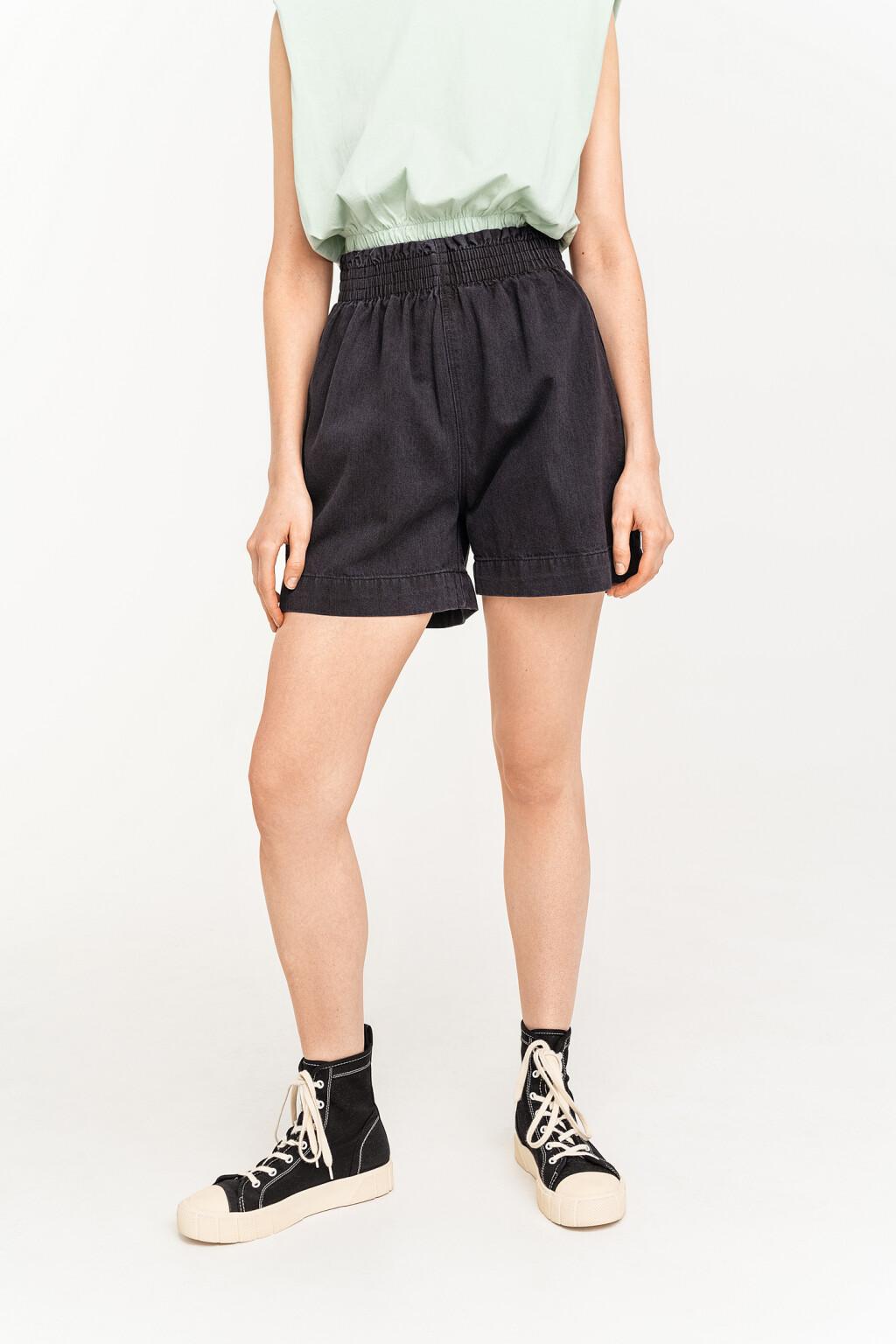 шорты джинсовые женские