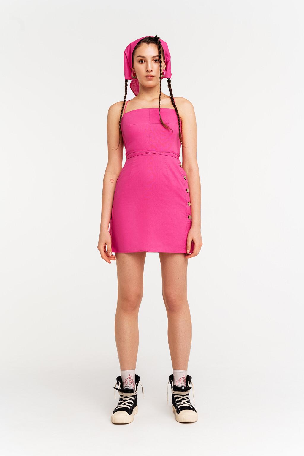 платье с косынкой женское