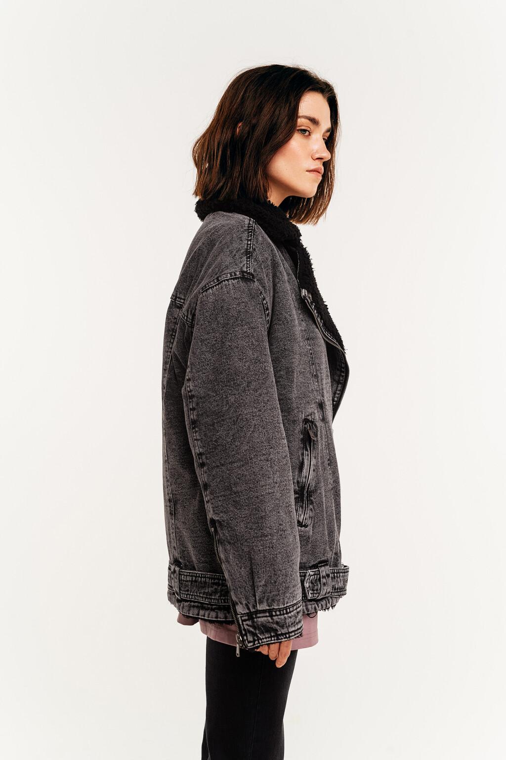 куртка джинсовая женская