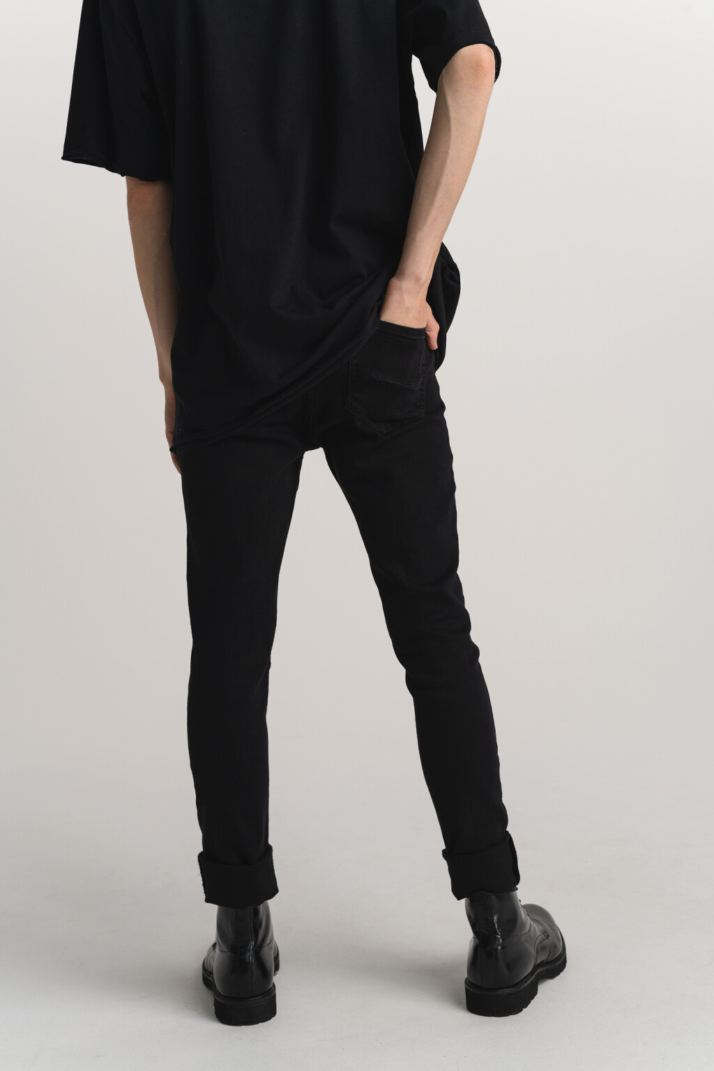 брюки джинсовые