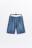 шорты джинсовые с эластичным поясом на завязках