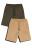 шорты хлопковые с эластичным поясом на завязках