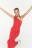 платье-сарафан длинное на одно плечо