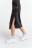 юбка джинсовая миди с боковым разрезом