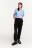 брюки-джоггеры хлопковые с декоративным хлястиком