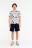 шорты хлопковые с эластичным поясом