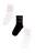 набор хлопковых носков с принтом (3 пары)