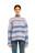 свитер вязаный в полоску